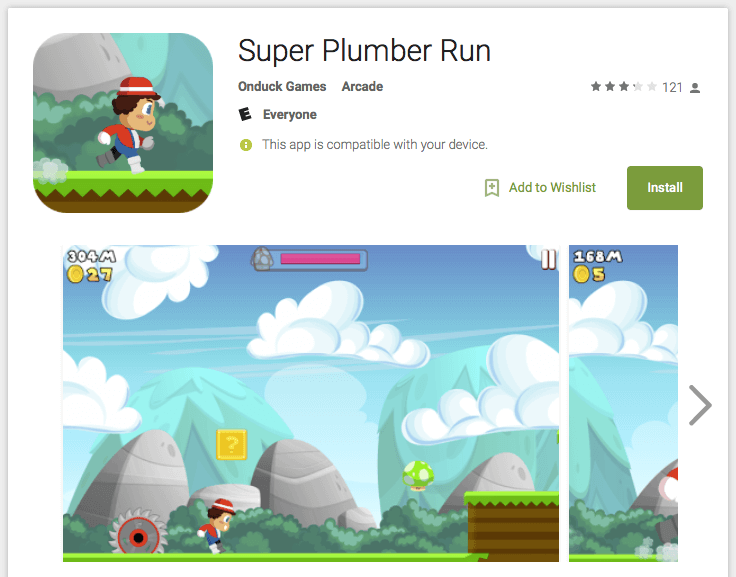 Super Mario Run clones hit Google Play and Apple's App Store