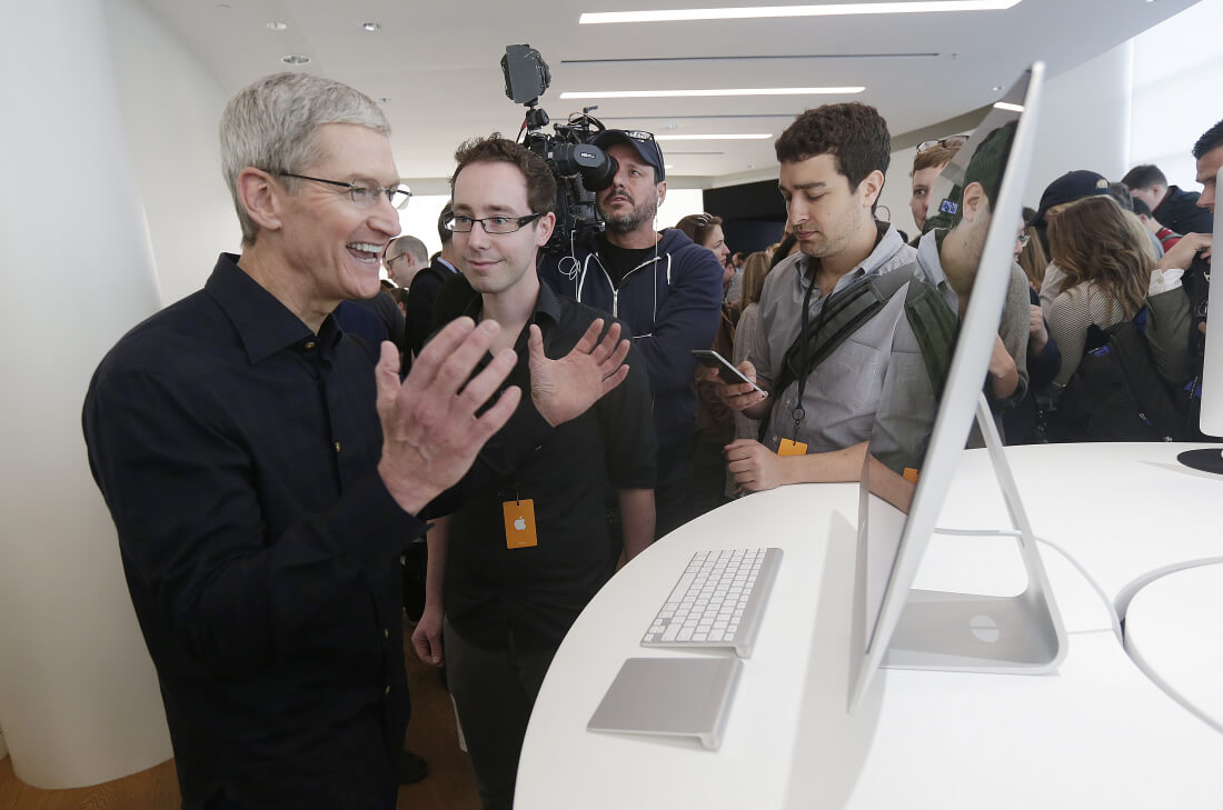 Tim Cook reaffirms Apple's commitment to desktops, whatever that means