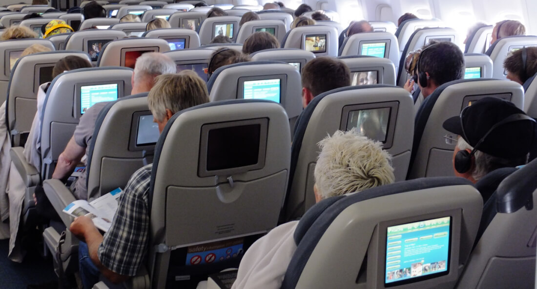 Some American Airlines and Singapore Airlines seat screens have built-in cameras