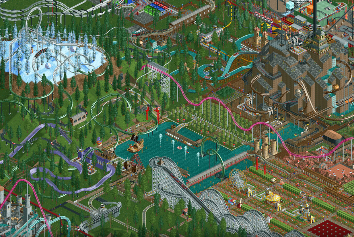 Extend your nostalgia coma with 'RollerCoaster Tycoon Classic' for Android and iOS