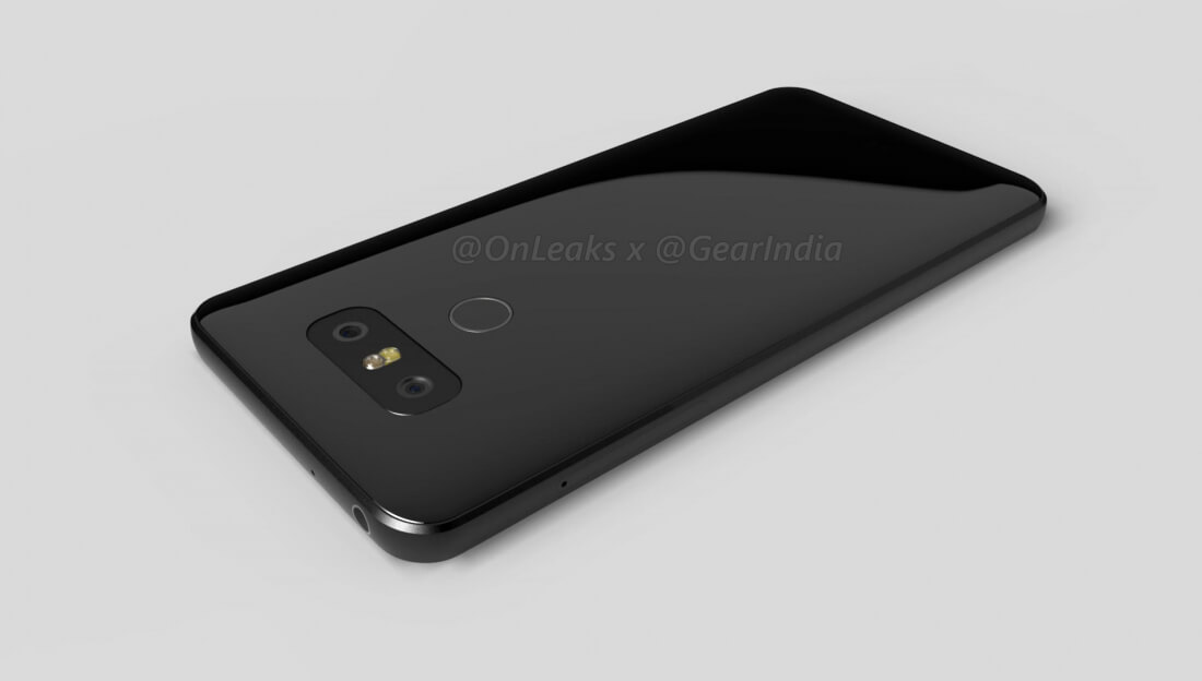 Renders of LG's upcoming G6 show non-removable batteries are