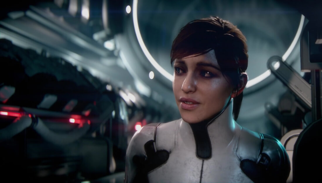 All Mass Effect Andromeda characters based on face scans; Galaxy won't be fully explorable