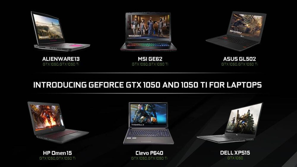 Nvidia releases GTX 1050 and 1050 Ti for mid-range laptops