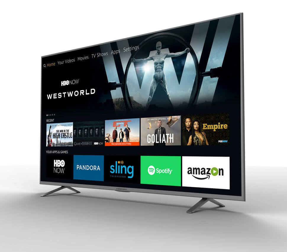 Amazon is integrating its Fire TV platform with Alexa support into select 4K televisions