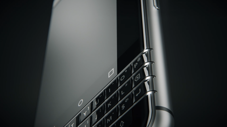 TCL shows off first BlackBerry-branded smartphone, codenamed 'Mercury'