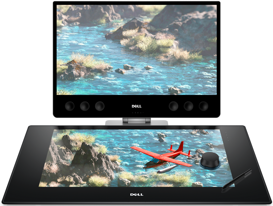 Dell S Canvas Is An Oversized Drawing Tablet For Creative
