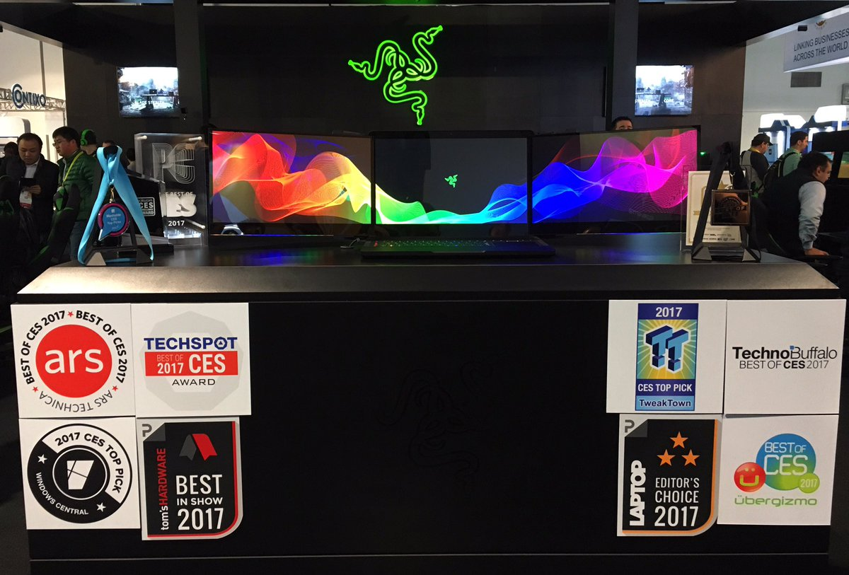 Razer says two prototypes were stolen from their booth at CES (Updated)