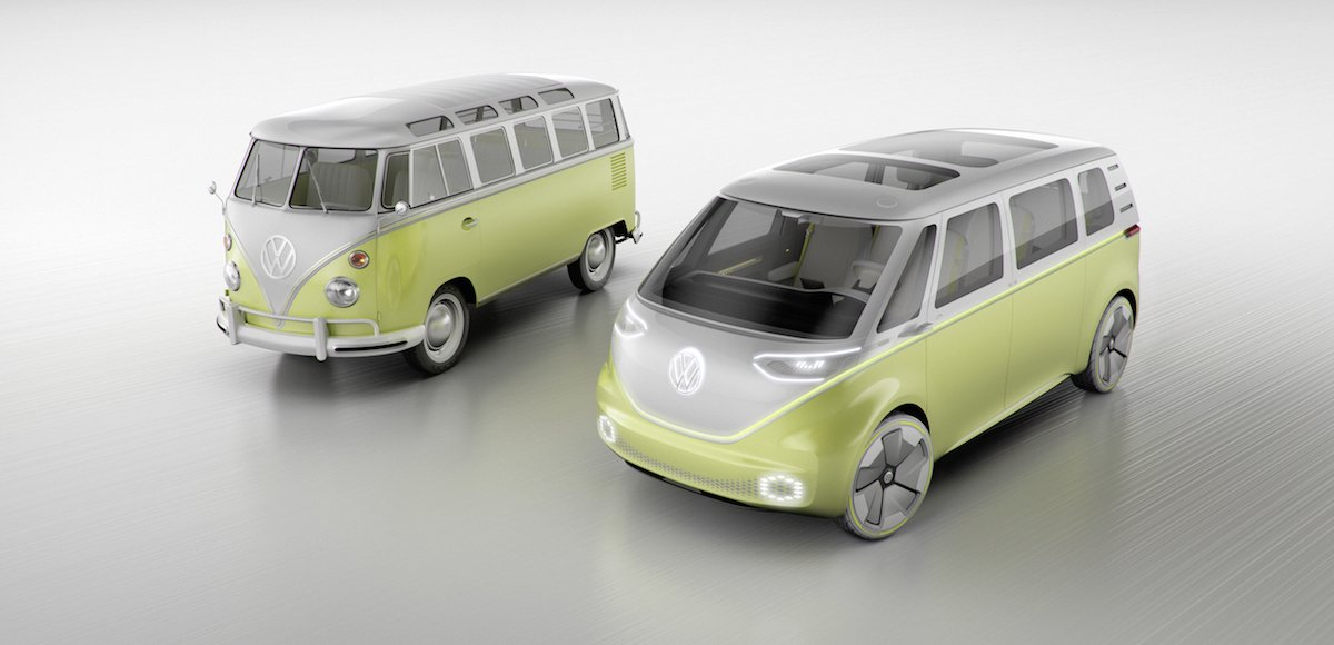 Volkswagen's Microbus concept is roomy and quick, seating eight and hitting 60 mph in five seconds