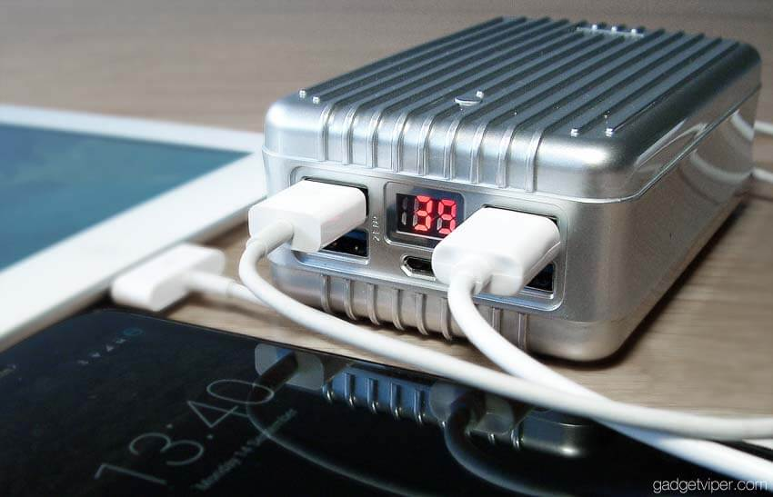 This high-capacity charger can power up your phone several times over
