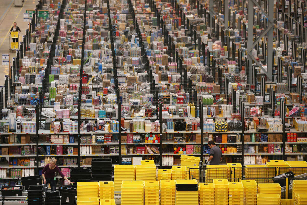 Amazon to create 100,000 full-time jobs over the next 18 months