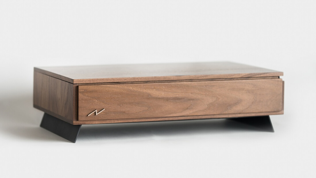 Check out the Volta V, a high-end PC in a handcrafted wooden case