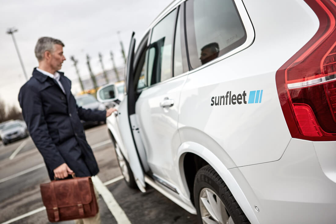 Volvo to expand its Sunfleet car-sharing business globally