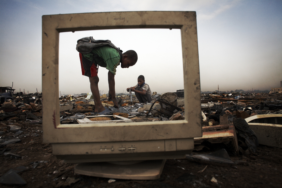 E-waste up 63 percent in Asia over five-year period, report finds