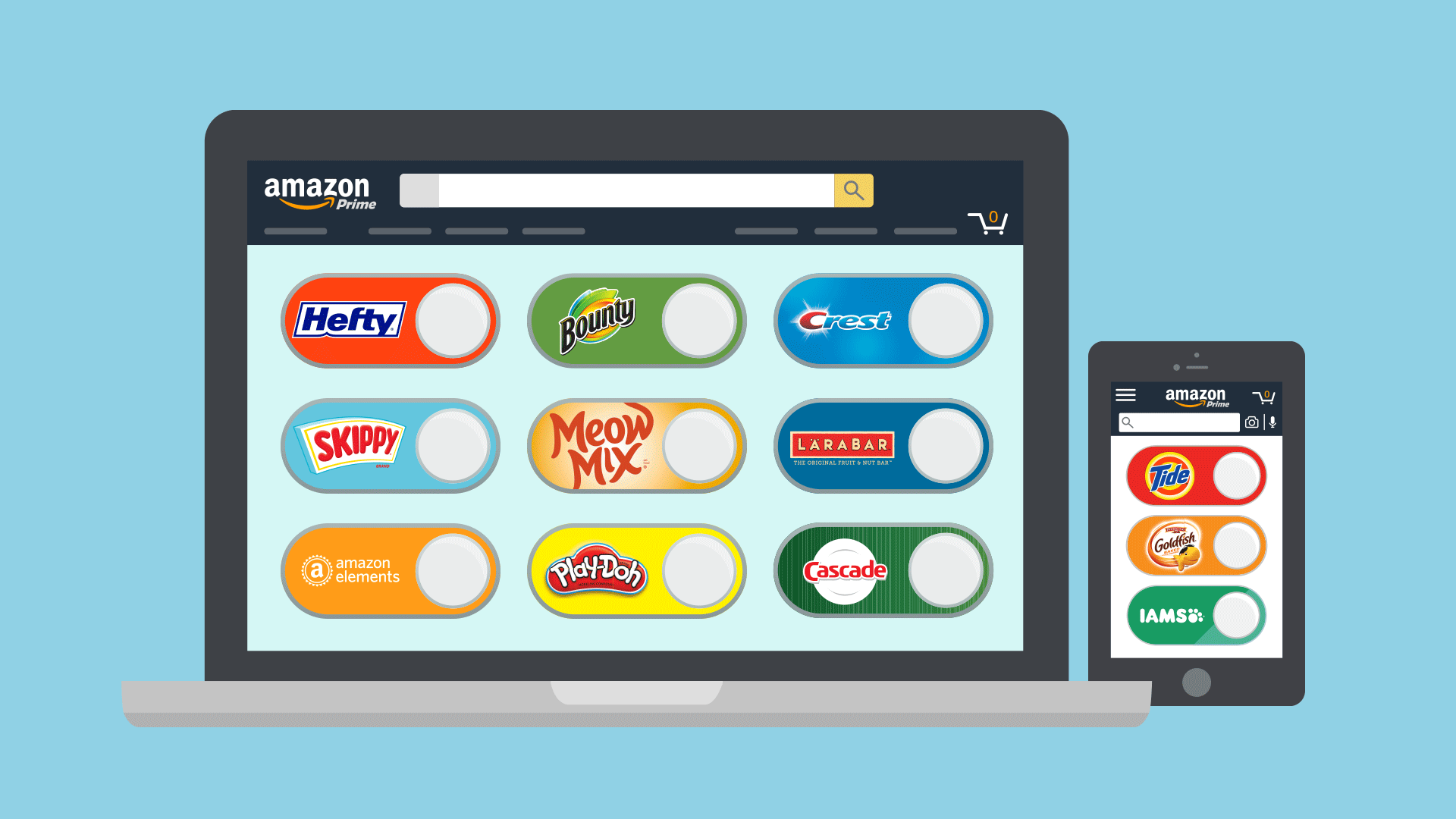 Digital Dash Buttons demonstrate Amazon's expertise in retail