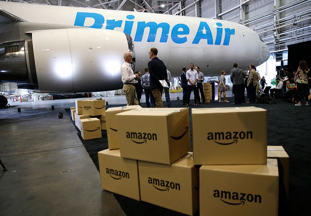 Amazon to build first air cargo hub in Kentucky