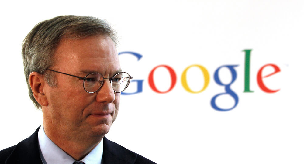 Alphabet chairman Eric Schmidt warns that Trump's administration will do evil things