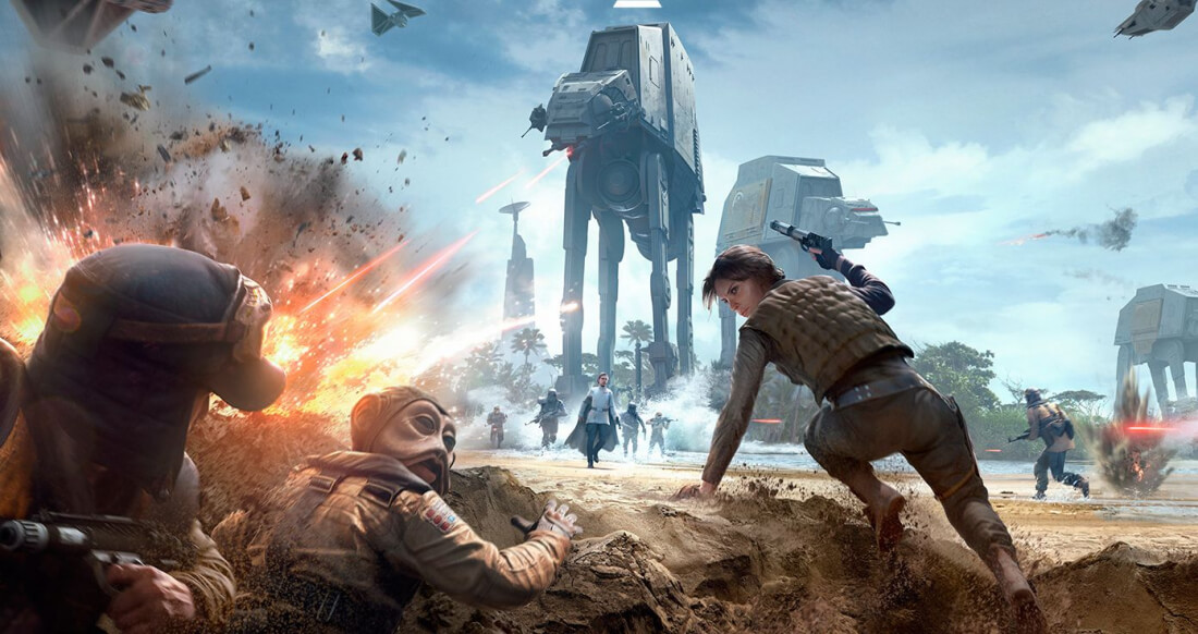Star Wars: Battlefront 2 launches later this year, will have solo campaign and feature content from multiple eras