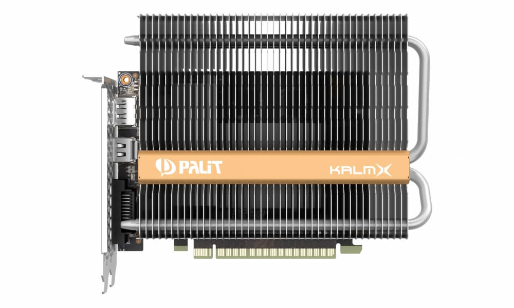 Palit launches fanless GeForce GTX 1050 Ti graphics card