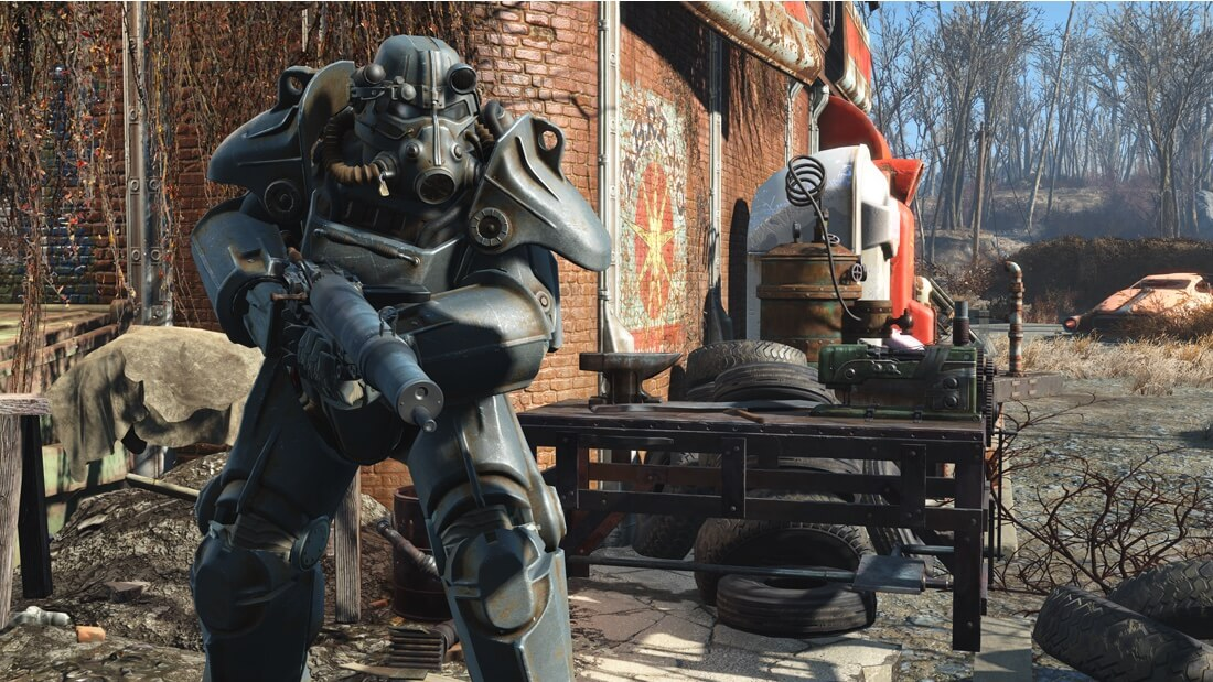 Fallout 4's 58 GB high-resolution texture pack is now available
