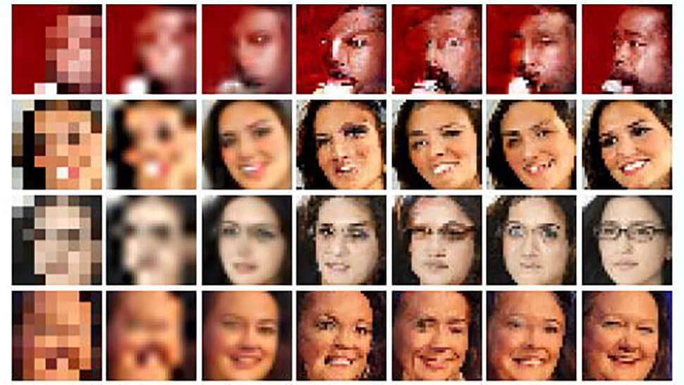 Google Brain learns how to zoom and enhance pixelated photos