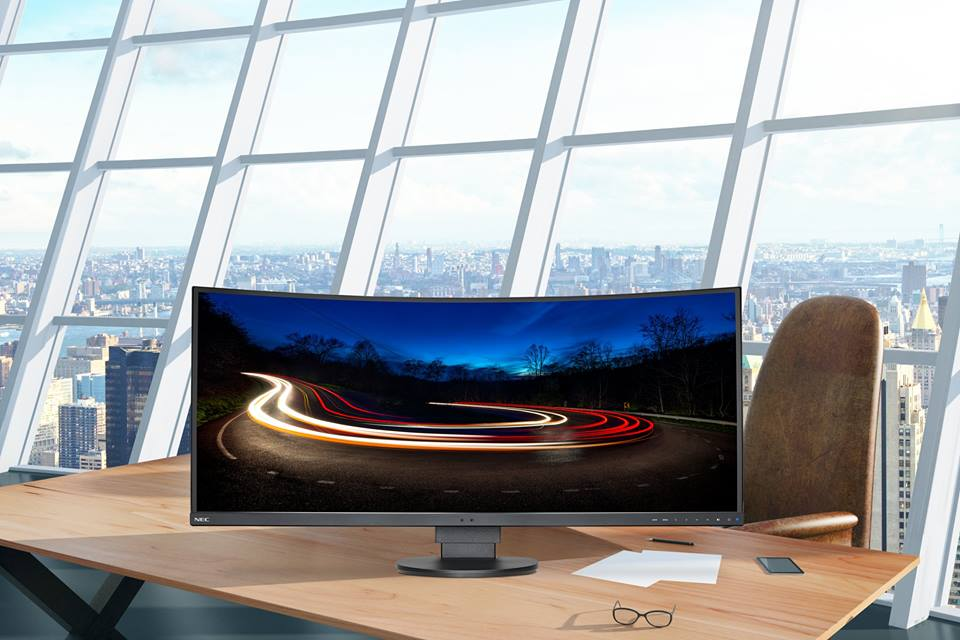 NEC unveils MultiSync EX341R curved ultrawide display, starts at $999