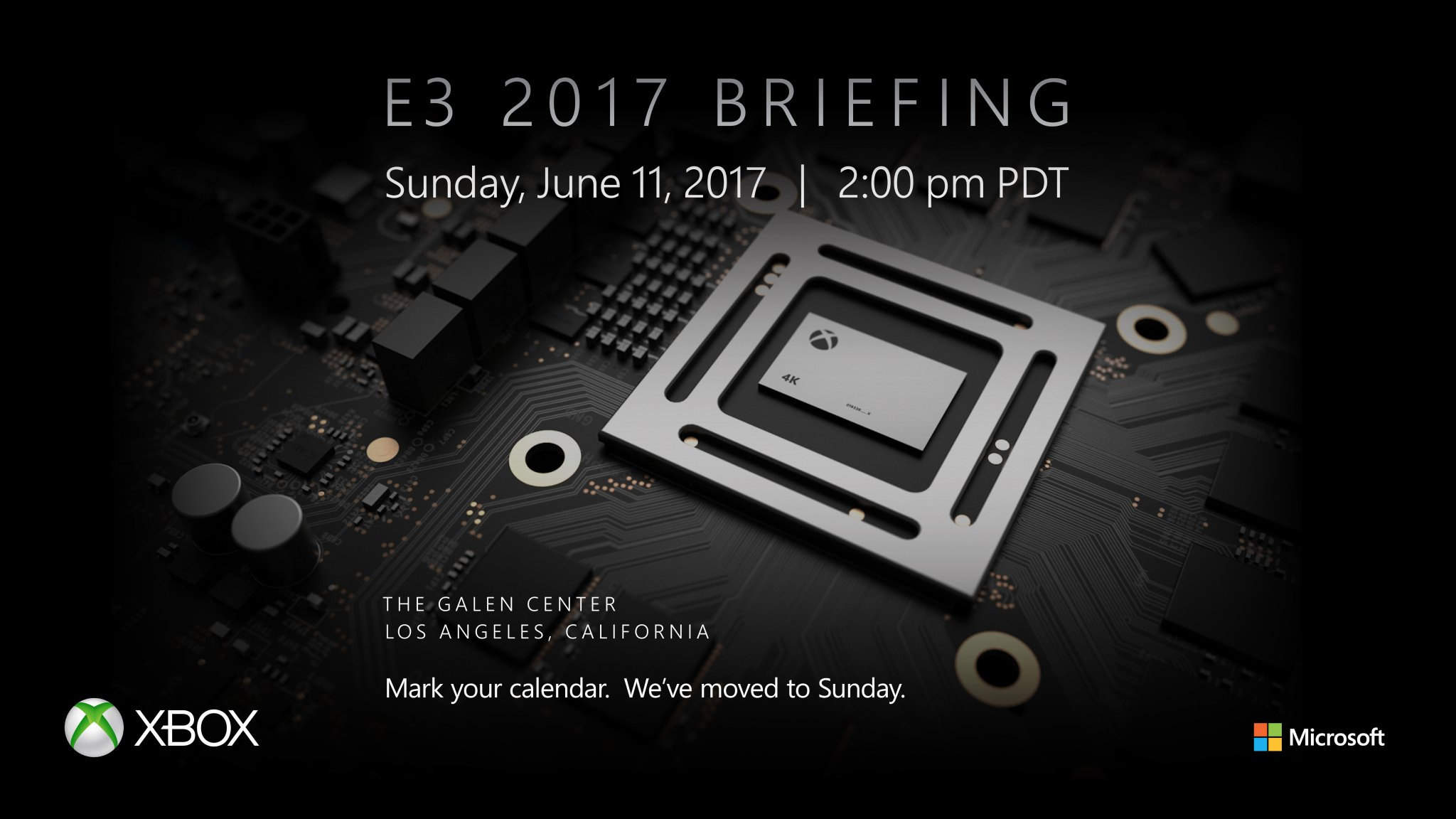 Microsoft expected to unveil Project Scorpio at E3 on June 11