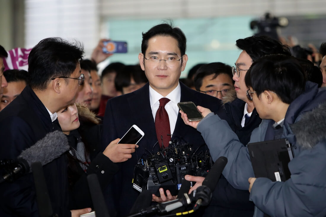 Samsung chief Lee Jae-yong arrested on bribery charges