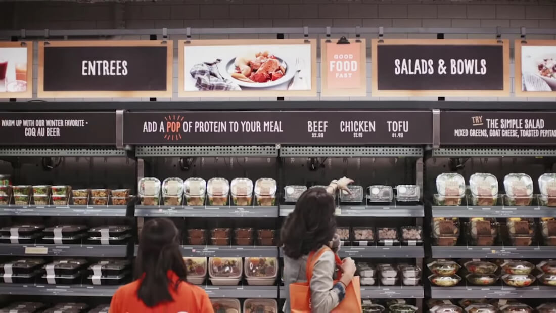 Amazon's Cashierless Store Concept is Being Tested for Use in Large Stores