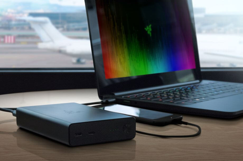 Razer announces a USB battery pack for the Blade Stealth