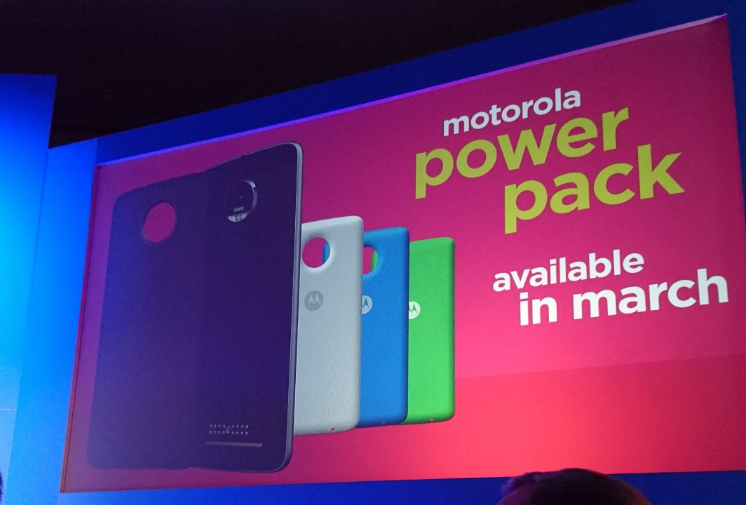 Motorola shows off several upcoming Moto Mods including an