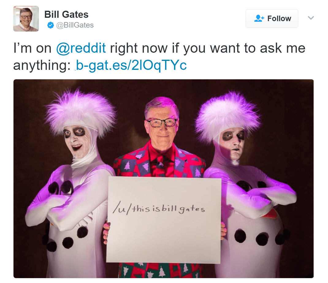 Bill Gates does his fifth AMA, here are 7 top questions he answered