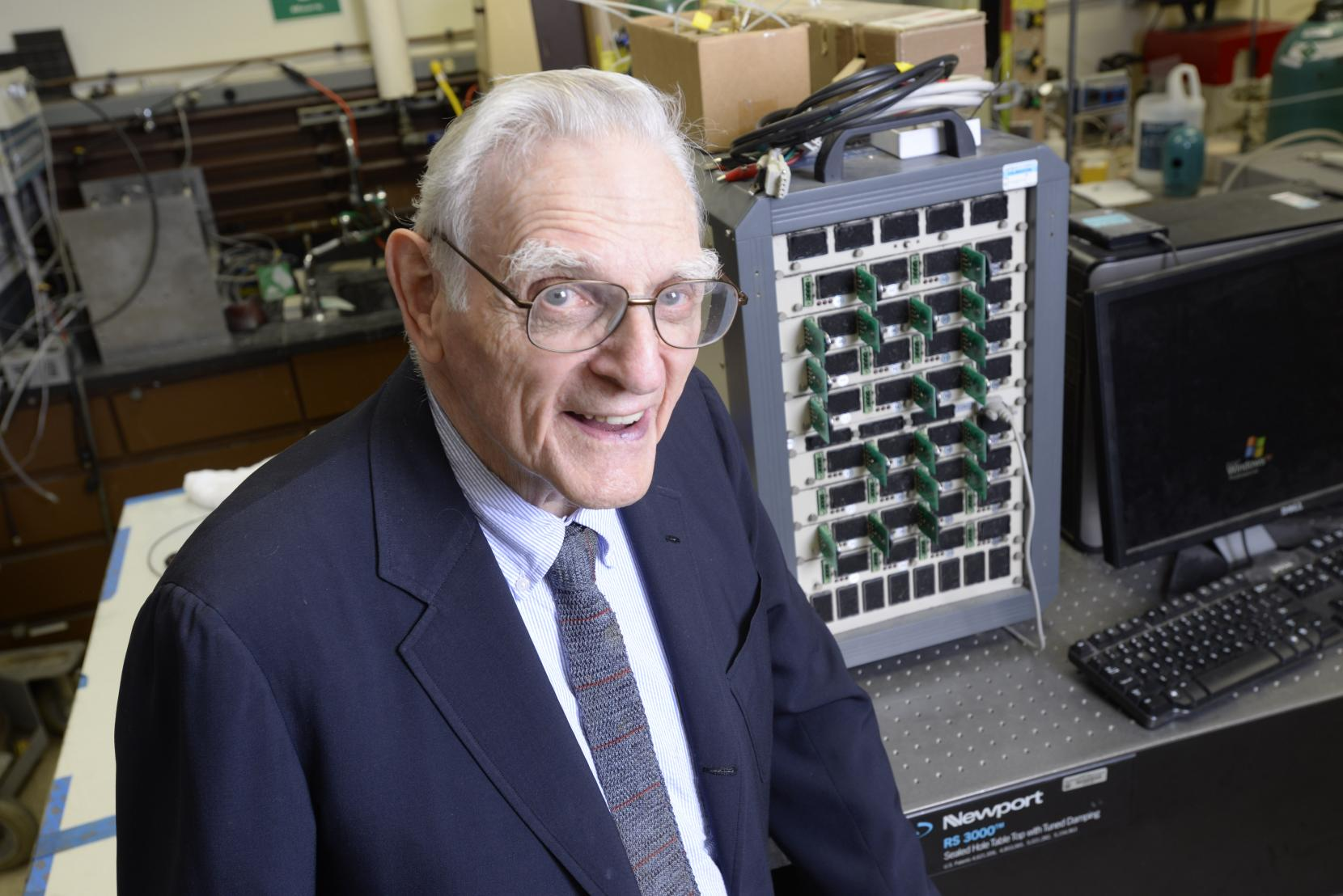 Lithium-ion co-inventor helps develop solid-state battery that is non-combustible, inexpensive and has a long lifespan