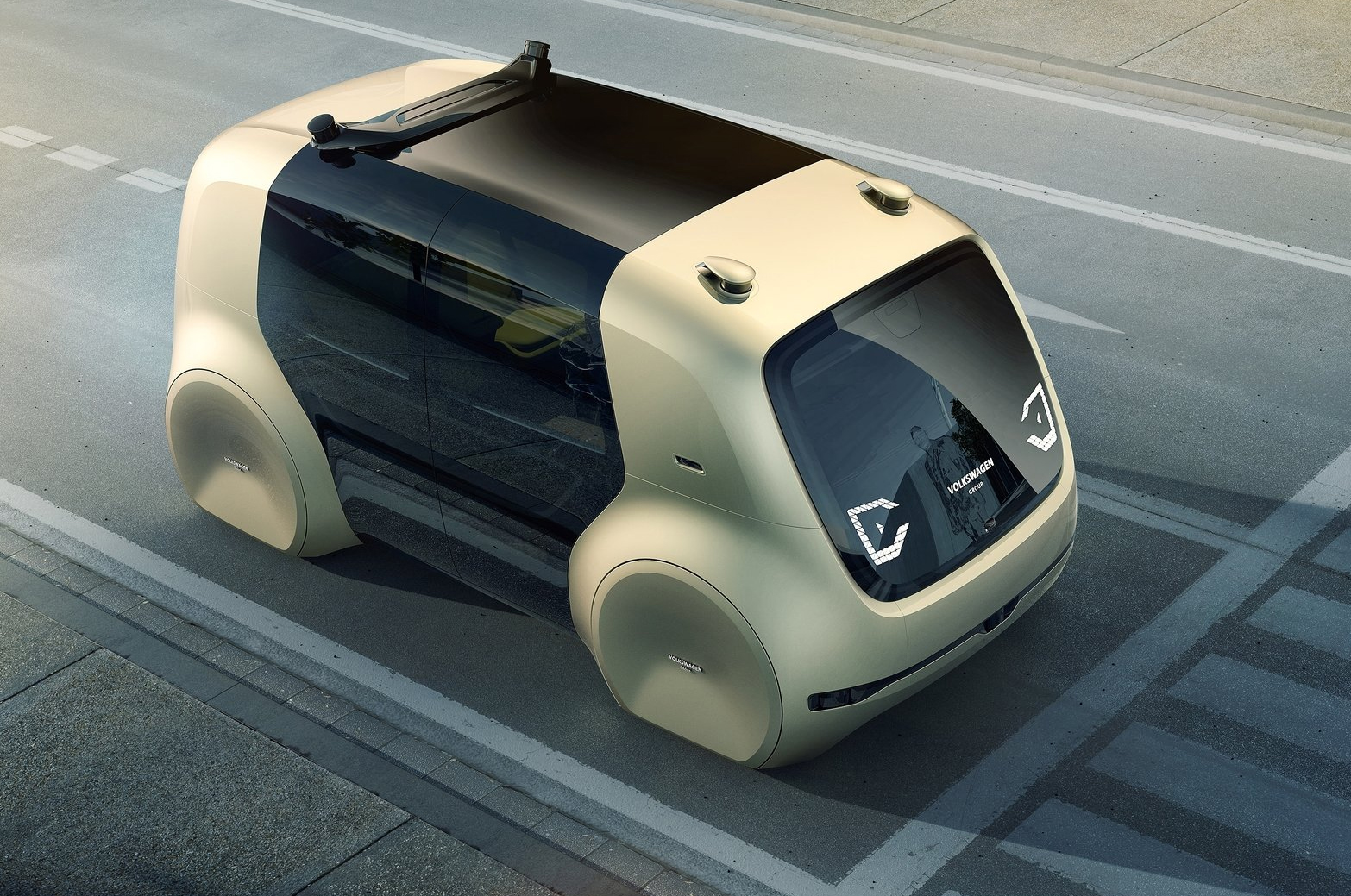 Sedric is Volkswagen's first self-driving concept vehicle