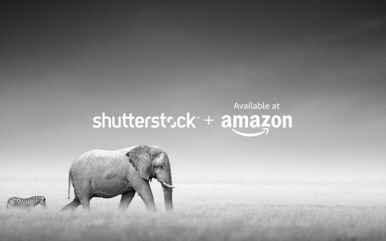 You can now buy curated Shutterstock images via Amazon