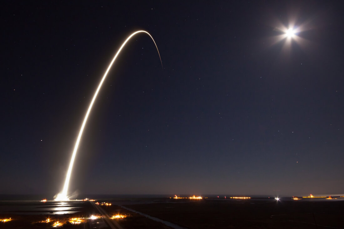 SpaceX launches communications satellite as Falcon 9 nears end of life