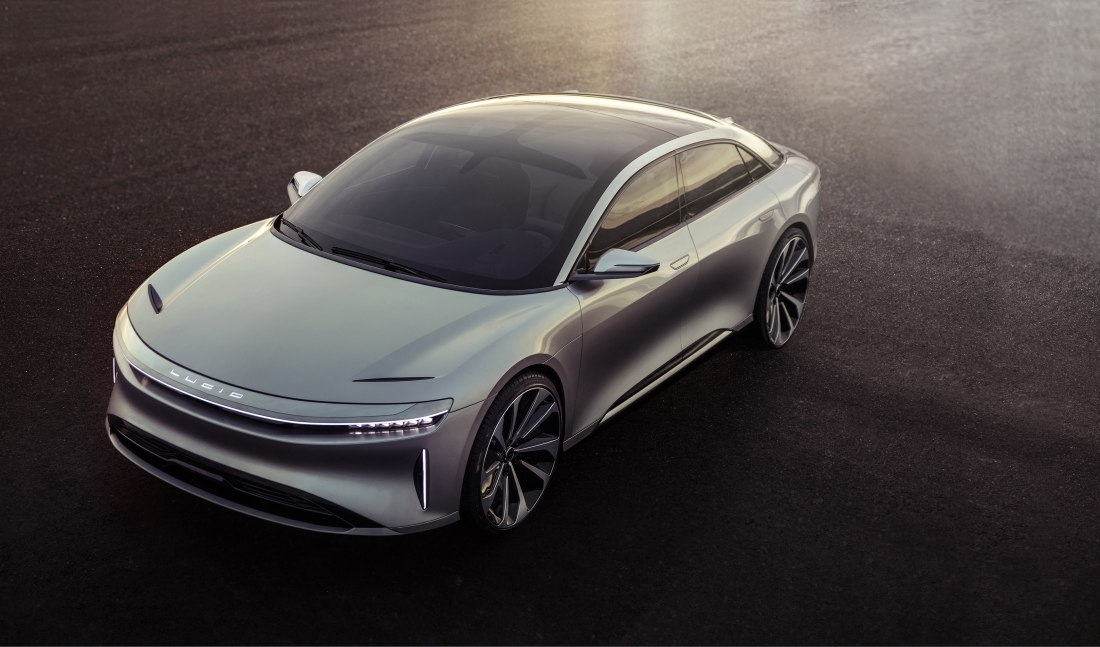 Lucid's first electric vehicle will start at $60,000