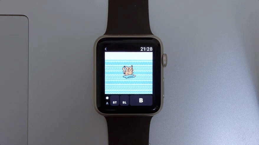 This emulator lets you play Game Boy Color titles on the Apple Watch