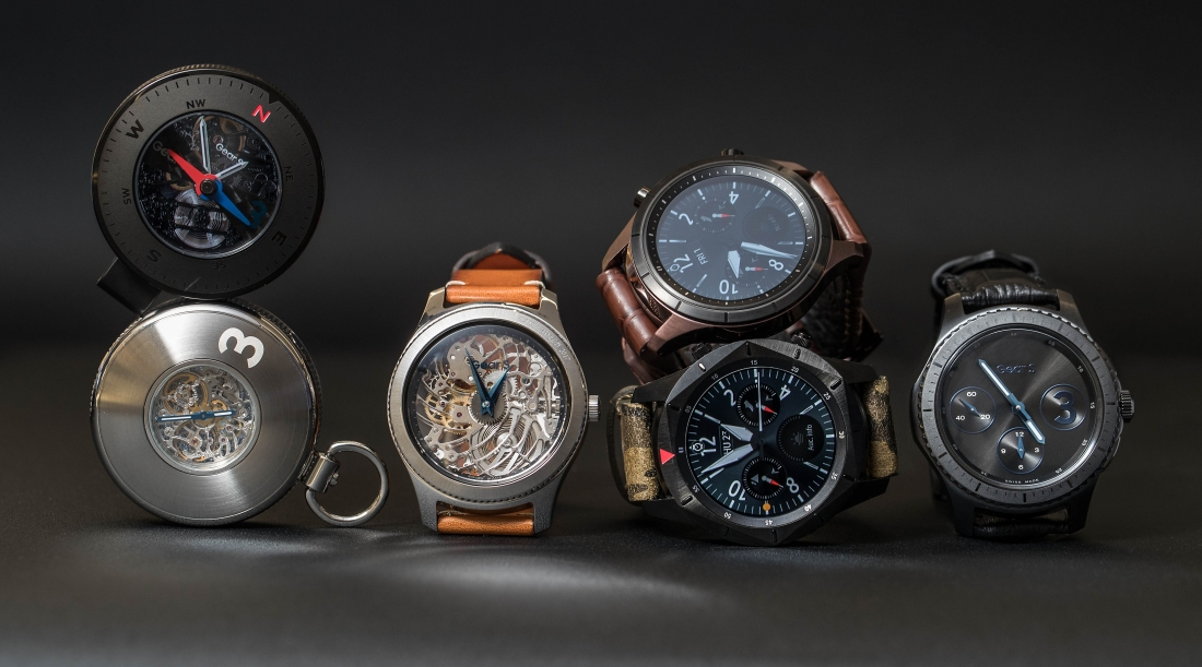 Samsung shows off three Gear S3 concepts including this steampunk-style pocket watch