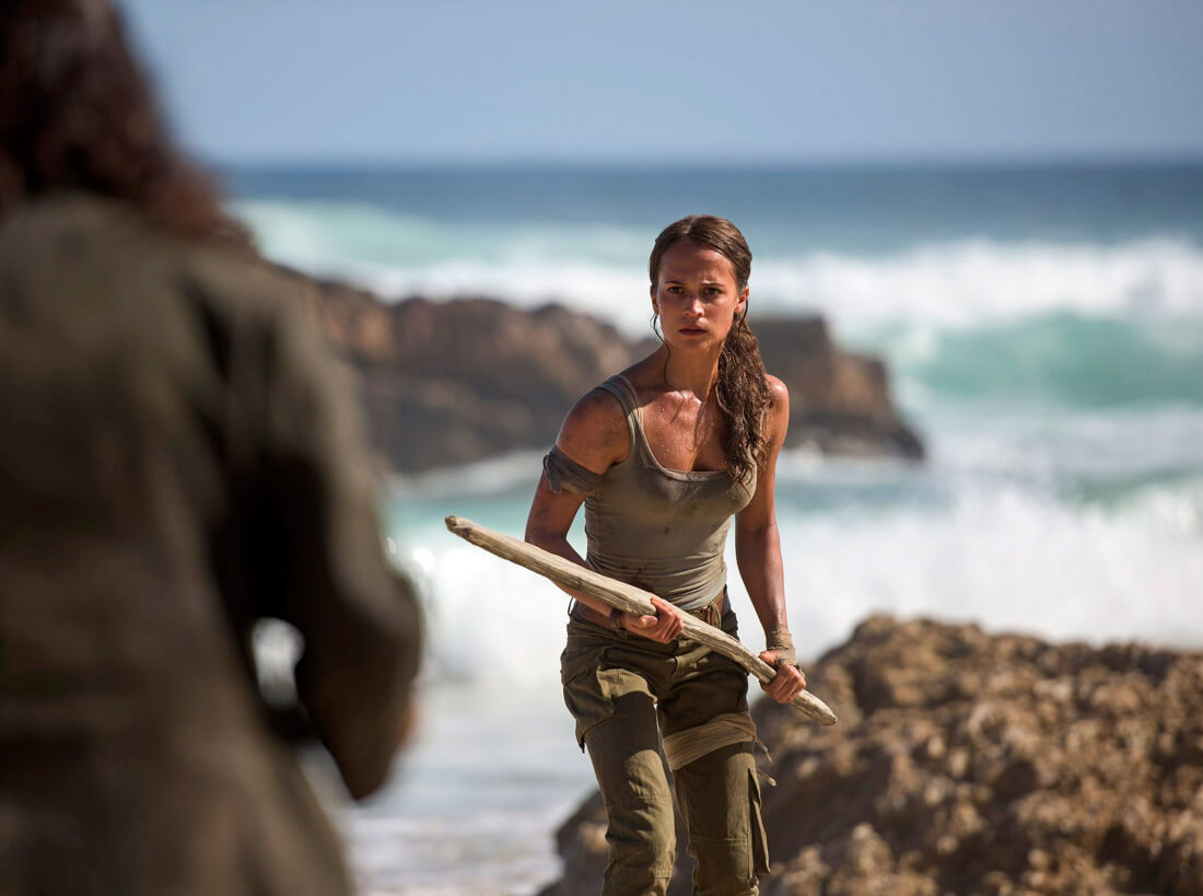 See the first photos of Alicia Vikander as Lara Croft in the upcoming Tomb Raider movie