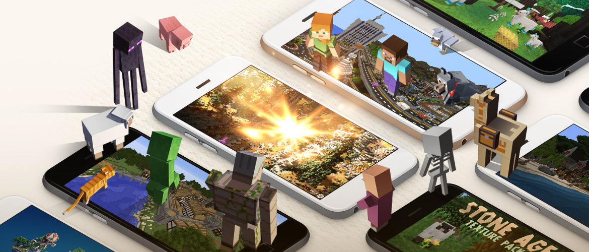 Microsoft is launching a Minecraft marketplace for third-party content, new virtual currency