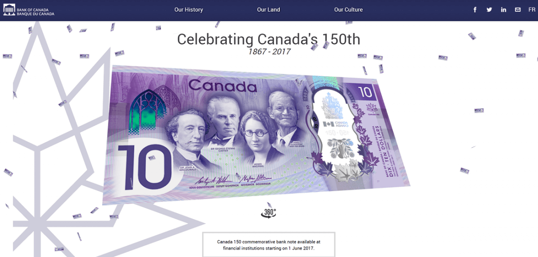 Bank of Canada adds Konami code Easter egg to its website