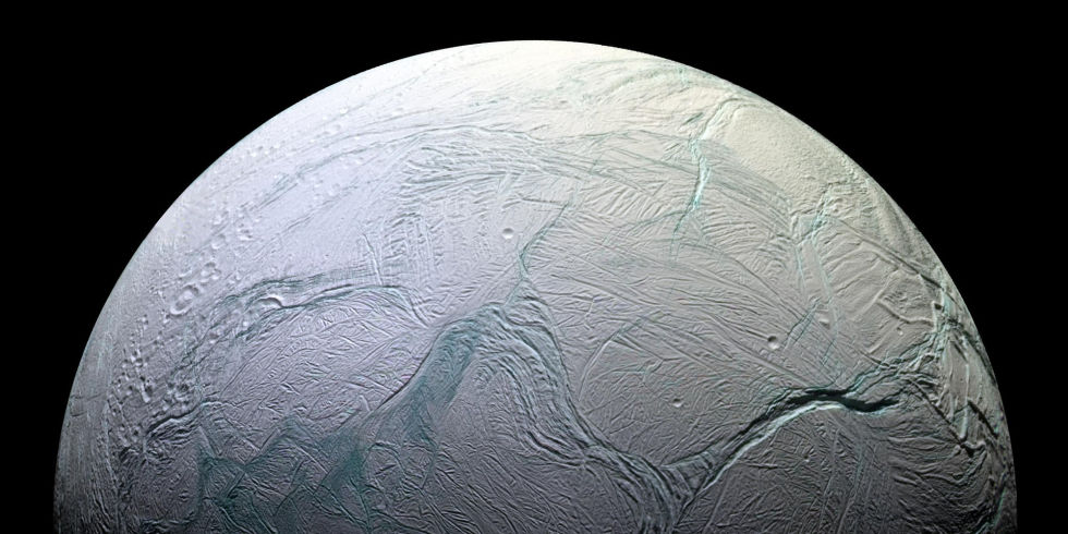NASA believes hydrothermal vents (and life) may exist on Saturn's moon Enceladus