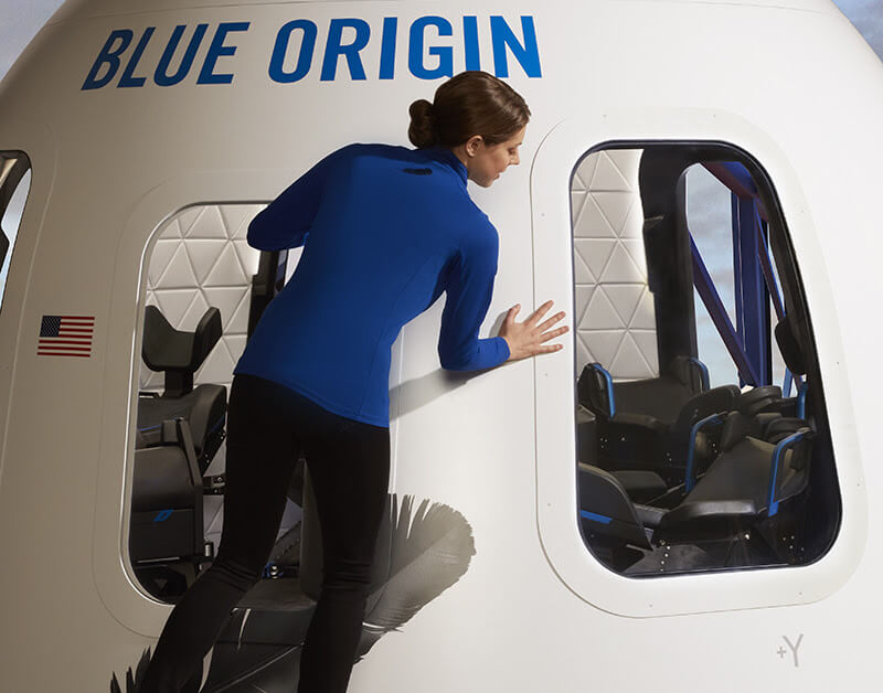 Jeff Bezos warns passengers to use the bathroom before taking a flight on his spacecraft
