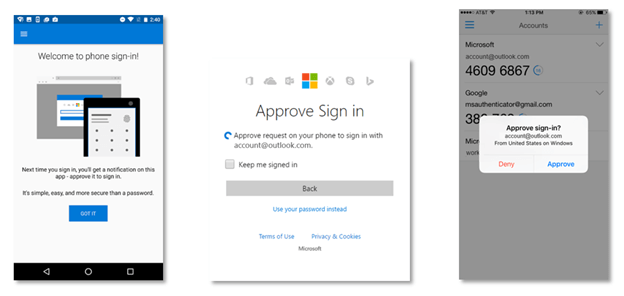 Microsoft Authenticator app adds phone sign-in option, skips the password