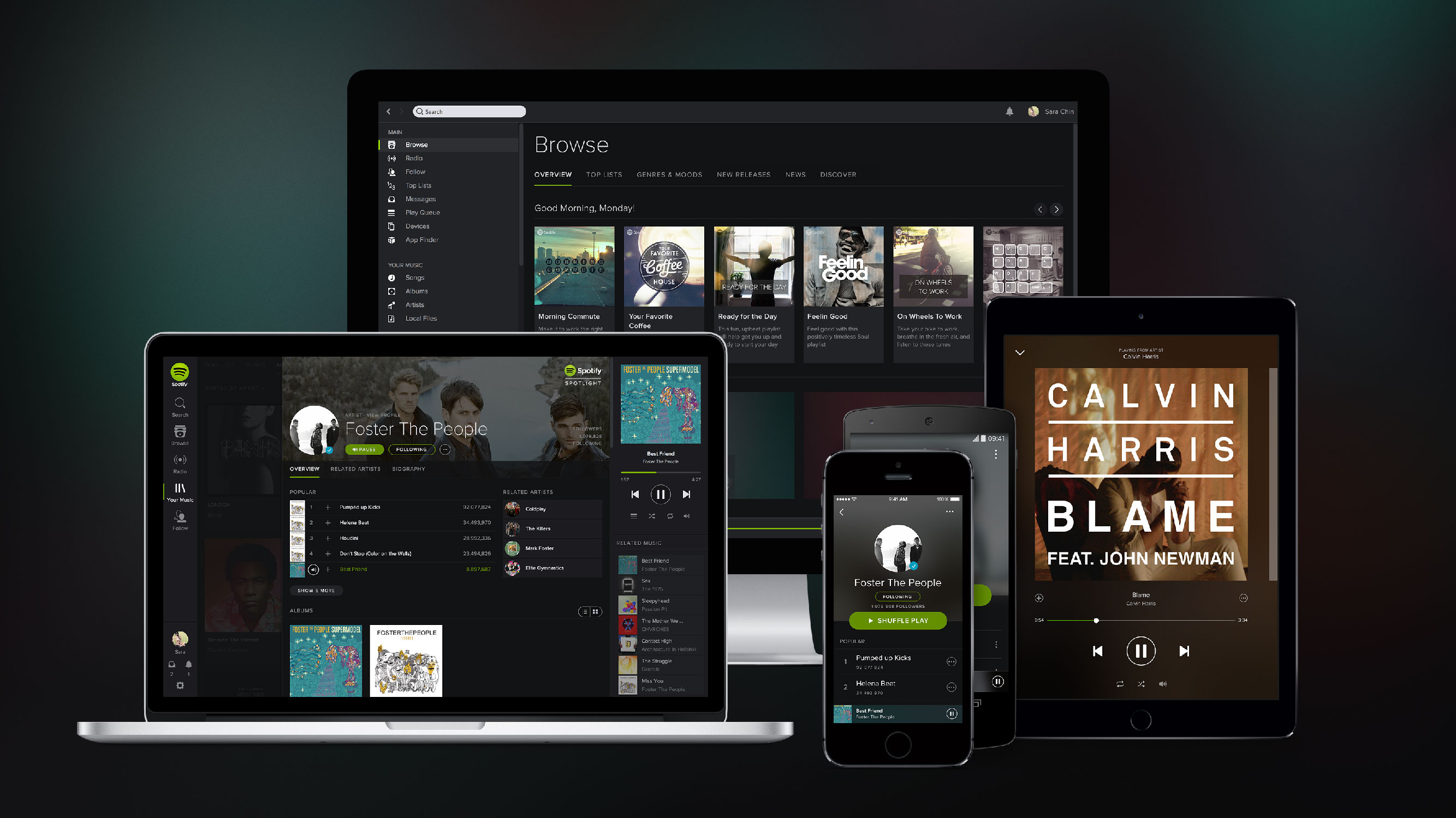 Spotify turns its attention to hardware
