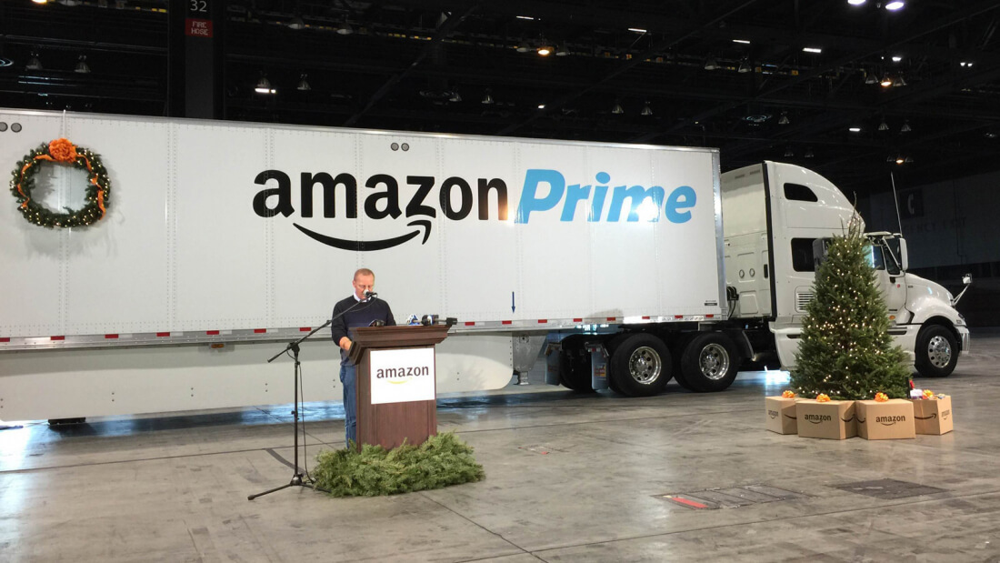 Amazon wants to use self-driving tech to help with deliveries