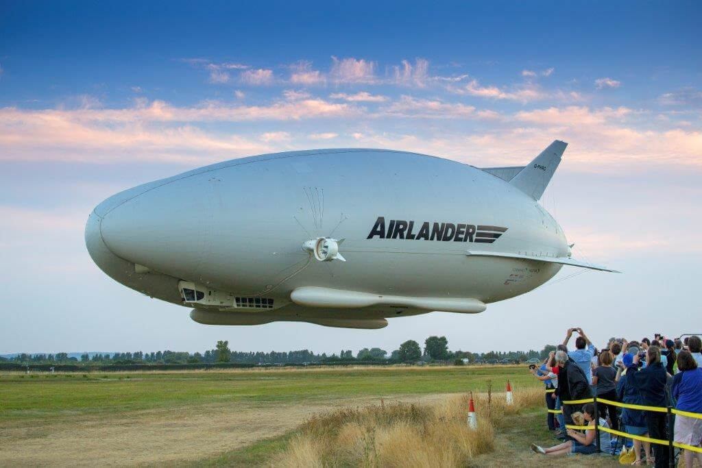 Google co-founder Sergey Brin is reportedly constructing a secret airship