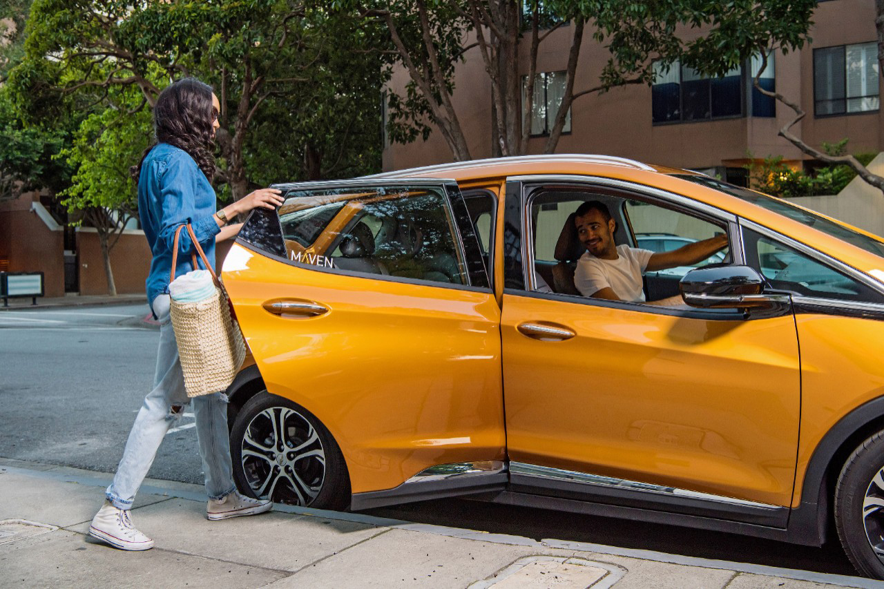 GM expands Maven car-sharing program to include the gig economy