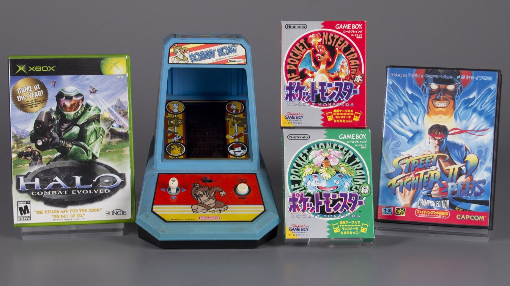 Four games inducted into the World Video Game Hall of Fame