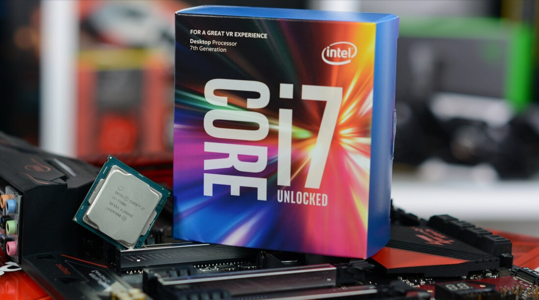 Intel responds to i7-7700K high temperature issue, tells owners they shouldn't overclock the chips